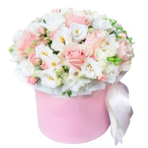 """Цветы в коробке """"Шарм"""""""