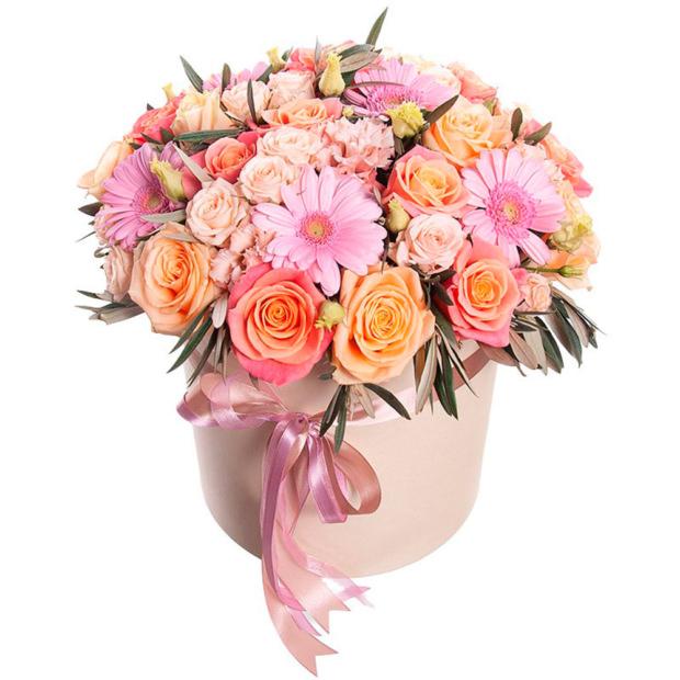 """Цветы в коробке """"Креатив"""""""