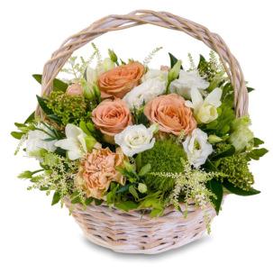 """Цветы в корзинке """"Секрет любви"""""""